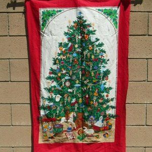 Other - VTG Sewing Panel Giant Christmas Door Cover Decor
